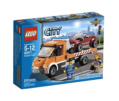LEGO City Flatbed Truck 60017 from LEGO City