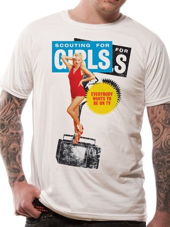 Men's Scouting For Girls - TV T-Shirt