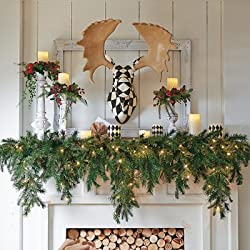 Cascading Garland For Mantle My Choice Finds
