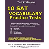 10 SAT Vocabulary Practice Tests ~ Paul G Simpson IV
