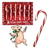 Accoutrements Bacon Candy Canes