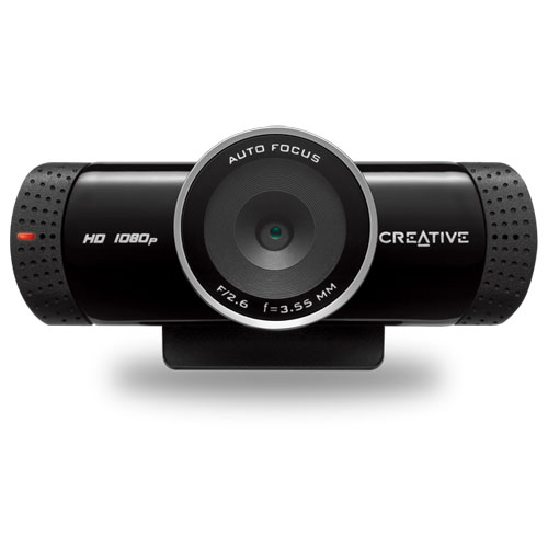Creative Live! Cam Connect HD 1080 Webcam (73VF076000000)