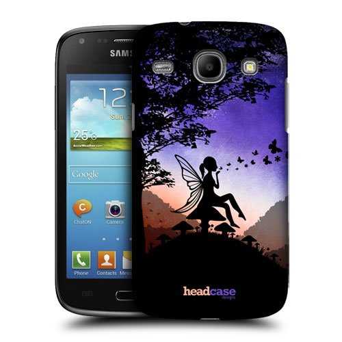 Head Case Designs Enchantment Dreamscapes Silhouettes Protective Snap-on Hard Back Case Cover for Samsung Galaxy Core I8260 I8262