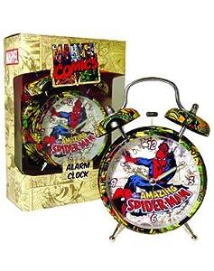 Spiderman - Comic Print Alarm Clock