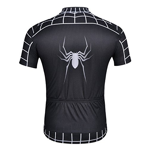 2016 New Bike Short Sleeve Jersey Set Cycling Spider-Men Jersey+Pants Short (Best Ironman Costume)