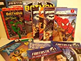 img - for Superhero Pack for Boys: Dk Reader Batman; Meet the Heroes & Villains; How to Draw Justice League; Dk Readers: Worst Enemies; the X Men School (World of Reading & Festival Readers) book / textbook / text book