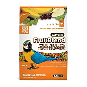 Zupreem FruitBlend Large Parrot Food 17.5 lb.