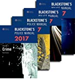 Blackstone's Police Manuals 2017: Four Volume Set
