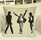 Michael Jackson Pillow Linen Pillow Pillow Cover Cushion Cover Lion Pillow Cover Home Decor Throw Pillow Decorative Pillow Amazon.com
