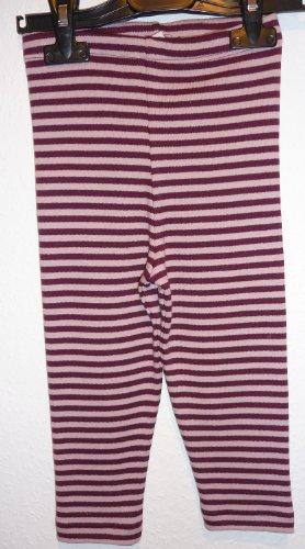 Lana naturalwear Legging Ringel Mädchen 100% kbA Baumwolle