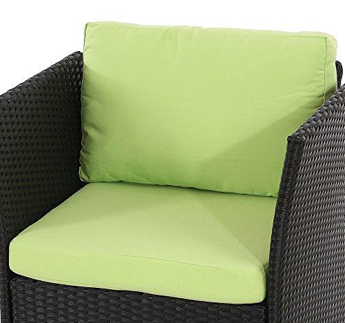 Sitz-und-Rckenkissen-fr-Poly-Rattan-Sofa-Siena-modulare-Gastronomie-Qualitt-hellgrn