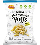Snikiddy Snacks Mac N' Cheese Puffs, 0.75-Ounce (Pack of 72)