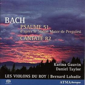 Ich habe genug, BWV 82: Aria: Schlummert ein, ihr matten Augen