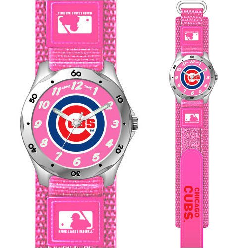 Chicago Cubs Girls Youth Wrist Watch