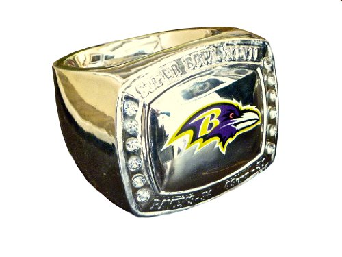 Baltimore Ravens NFL Super Bowl XLVII 2013 Championship Ring Paperweight at Amazon.com
