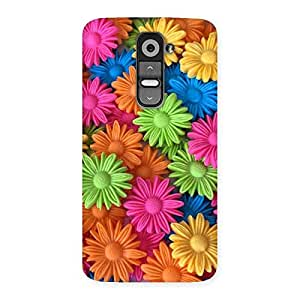 Special Art Sunflower Print Back Case Cover for LG G2