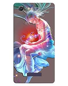 FurnishFantasy 3D Printed Designer Back Case Cover for Micromax Unite 3,Micromax Canvas Unite 3 Q372