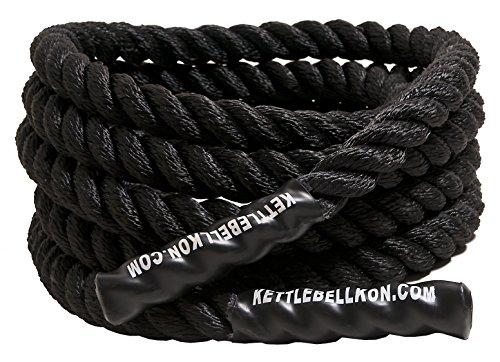 KETTLEBELLKON(ケトルベル魂)プログレード・バトルロープ (長さ50ft 直径1.5inch)