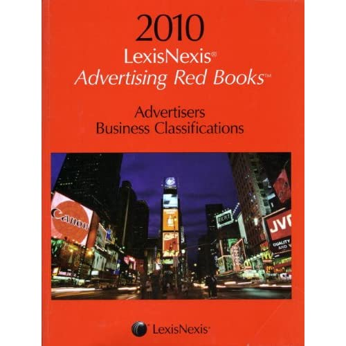 Cover image of Advertising Red Books: Advertiser, business classifications
