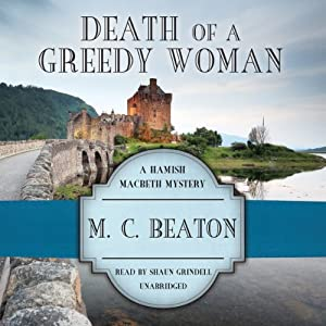 Death of a Greedy Woman Audiobook