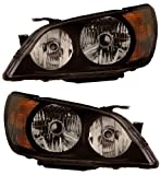 LEXUS IS 300 01-05 PRO HEADLIGHT BLACK NEW