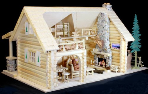 The Bear Family Lodge Woodworking Plan