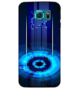 SAMSUNG GALAXY S6 CIRCLE Back Cover by PRINTSWAG