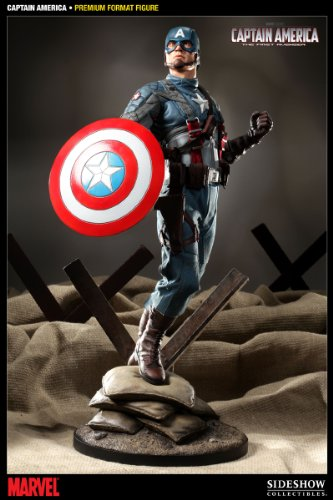 Buy Low Price Sideshow Captain America Premium Format Figure (B005C8Q7R0)