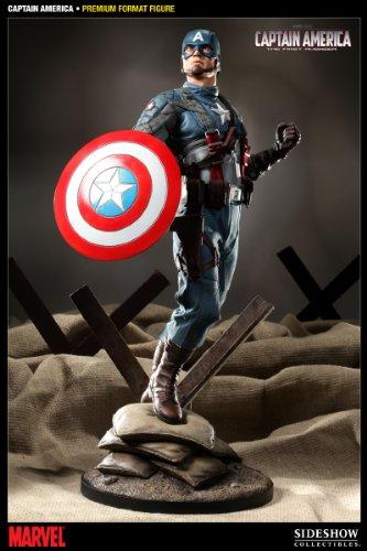 Buy Low Price Sideshow Captain America Premium Format Figure (B005C8Q7R0)