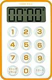 DRETEC 【「強い光(LED4個)」と「音」でお知らせ】 フラッシュタイマー オレンジ T-184OR