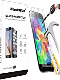Samsung Galaxy J1 (2016) Ballistic Screen Protector ShockWize [Tempered Glass] .3mm Thin Premium Real Glass Screen Protector Galaxy J1