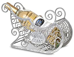 Epic Products Cork Cage Silver Sleigh, Multicolor
