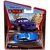 Disney Pixar Cars 2 Bindo # 37 (Bleu Maserati) - Véhicule Miniature - Voiture
