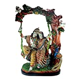Paras Magic Marble Jhoola Radha Krishna JRK3 Idol (Standard,Multicolor)