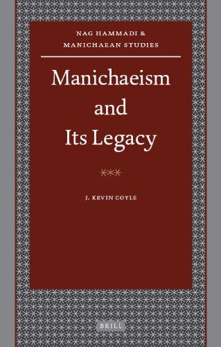Manichaeism and Its Legacy (Nag Hammadi and Manichaean Studies)
