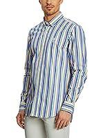 Galvanni Camisa Hombre Piotello (Azul / Blanco)