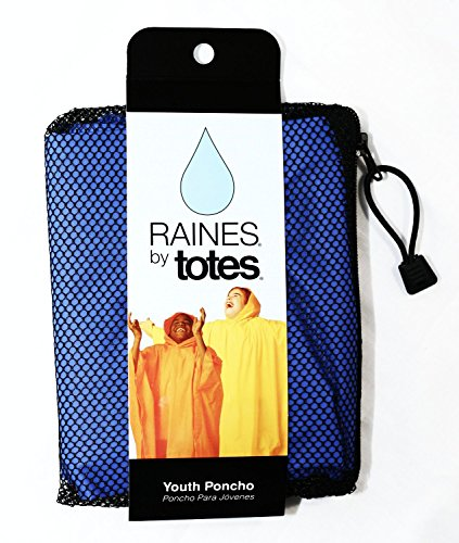 Raines Childrens Rain Poncho, One Size, Blue