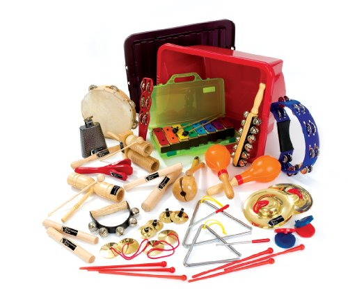 NRS Musical Percussion Instruments Pack of 24