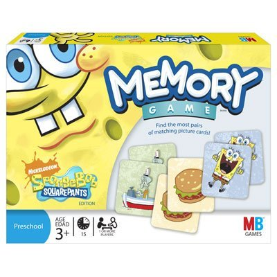 Memory Game: SpongeBob Squarepants
