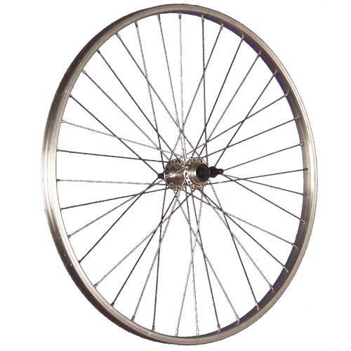 Taylor Wheels 26 Zoll Hinterrad Büchel Aluminiumfelge Schraubkranznabe silber