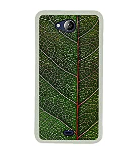 LEAF PATTERN Designer Back Case Cover for Micromax Canvas Play Q355