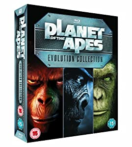 planet of the apes evolution collection blu ray with B005sqmjge on Big Brother Eye Logos Through History likewise 180706436316 moreover Pla  Of The Apes 40 Year Evolution Blu Ray Set Details 33267 moreover Index moreover Many Rejected Posters Jurassic Park.