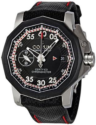 Corum Men's 96110104/F231AN Admiral Cup Black Rubber Strap Watch from Corum