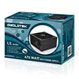 Diablotek UL Series 675W ATX 12V V2.31 Power Supply PSUL675