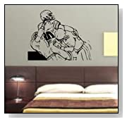 Football Players Decal Sticker Wall Mural