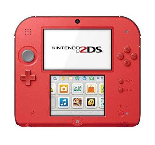 Nintendo Nintendo 2DS-Crimson Red 2 w/Mario Kart 7 - Nintendo 2DS