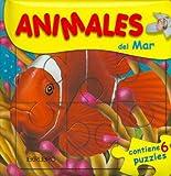Animales del Mar - Contiene 6 Puzzles (Spanish Edition)