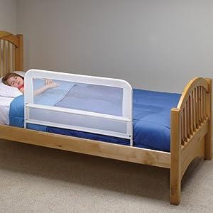 Amazon Com Kidco Children S Bed Rail White Mesh