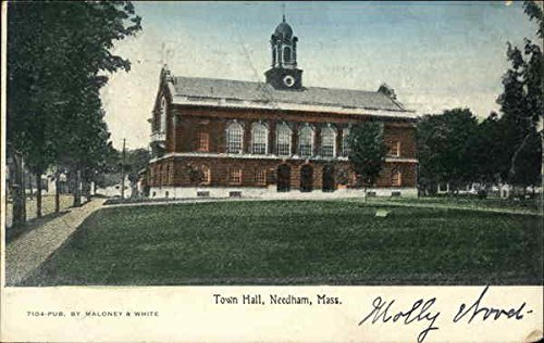 Town Hall and Grounds in Needham, Massachusetts