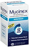 Mucinex Expectorant, Bi-Layer Tablets, 100-Count Bottle